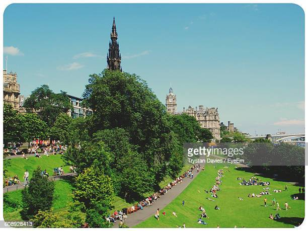 Princes Street Gardens Stock Photos and Pictures | Getty Images