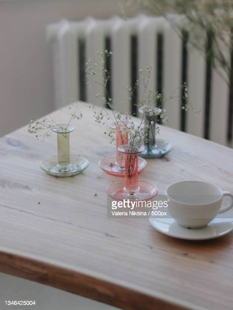 high angle view of place setting on table,russia - nikitina stock pictures, royalty-free photos & images