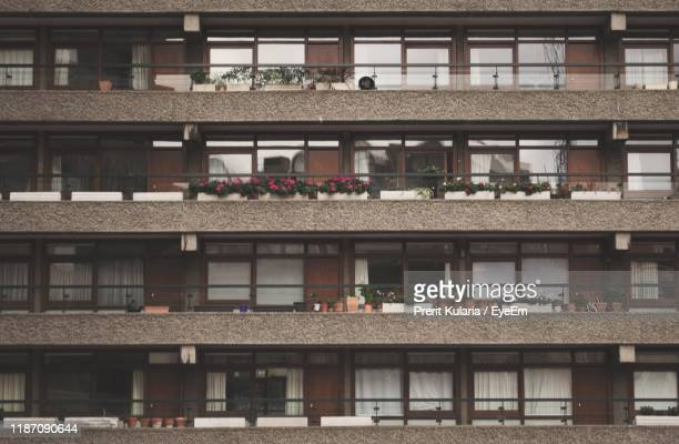 high angle view of residential building - central london stock pictures, royalty-free photos & images