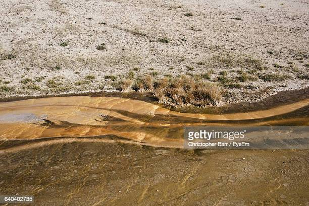 high angle view of sea shore - barr stock pictures, royalty-free photos & images