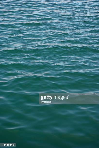 High angle view of sea surface background