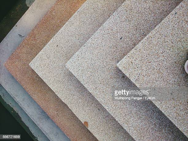 high angle view of steps - granite stock pictures, royalty-free photos & images