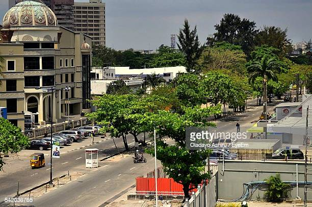 High Angle View Of Street By Silverbird Galleria