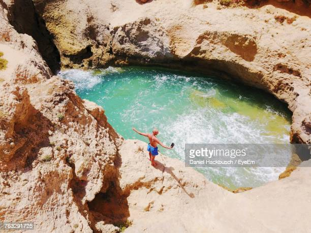 High Angle View Of Tourist In Portugal