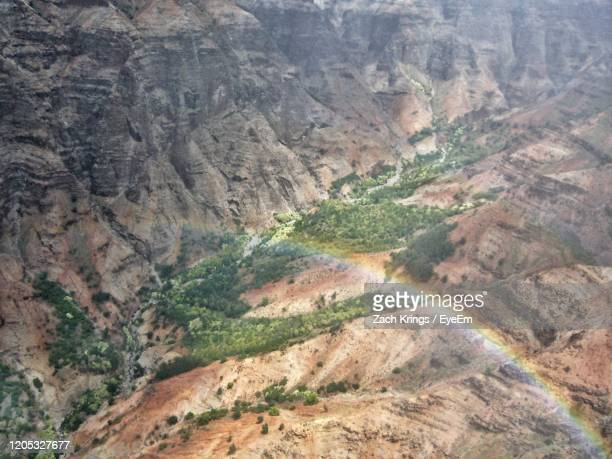 high angle view of valley - krings stock pictures, royalty-free photos & images