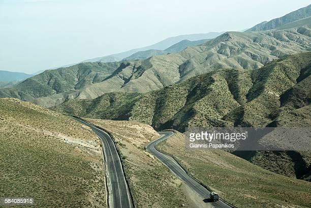 High Atlas mountain road