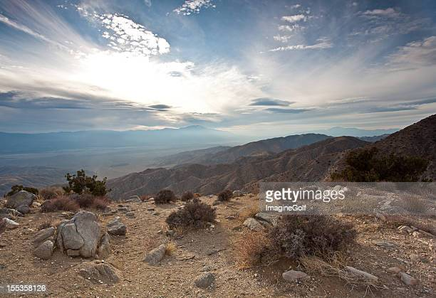 high california desert and san andreas fault - san andreas fault stock pictures, royalty-free photos & images