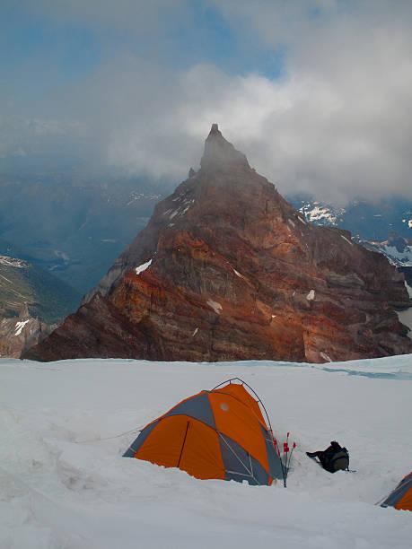 High Camp on Mount Rainier