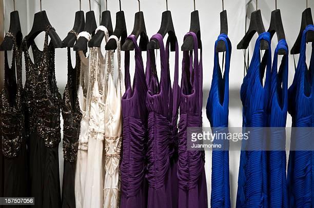 vestidos de alta classe - roupa de mulher - fotografias e filmes do acervo