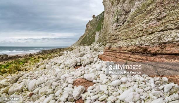 High cliffs at Speeton, Filey Bay, North Yorkshire