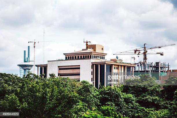 high court government building in abuja, nigeria. - abuja stock pictures, royalty-free photos & images