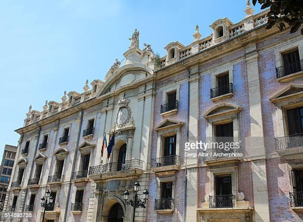 high court of justice of valencian community - valence espagne photos et images de collection