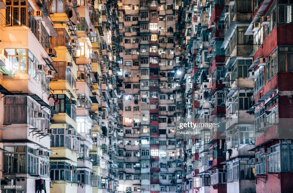 High Density Living : Stock Photo