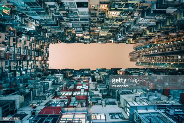 high density living - great recession stock pictures, royalty-free photos & images