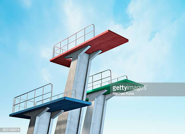 High Diving Platforms