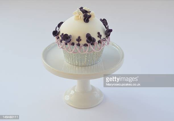 High dome mini blossom cupcake