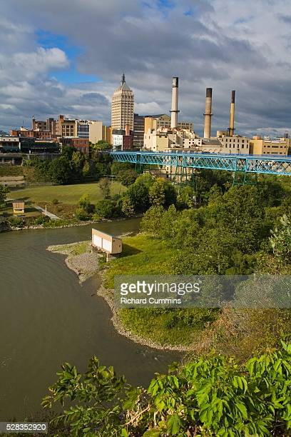 High Falls Area, Rochester, New York State, USA