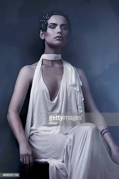 high fashion - roman goddess stock pictures, royalty-free photos & images
