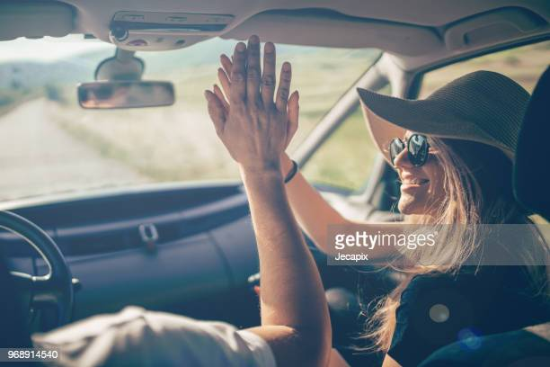 high five - girlfriend stock pictures, royalty-free photos & images