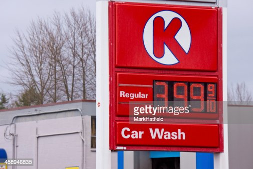Circle K Gas Prices >> High Gas Price At Circle K Station Stock Photo Getty Images
