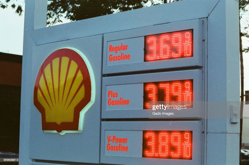 High Gas Prices : Stockfoto