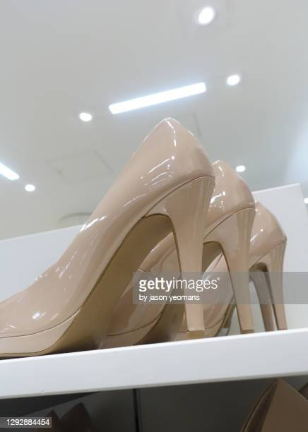 high heels - womenswear stock pictures, royalty-free photos & images