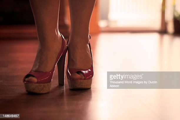 high heels - dustin abbott stock pictures, royalty-free photos & images