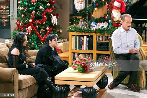 FRASIER 'High Holidays' Episode 11 Pictured Marisa Guterman as Andi Trevor Einhorn as Frederick Gaylord Taylor Kelsey Grammer as Dr Frasier Crane