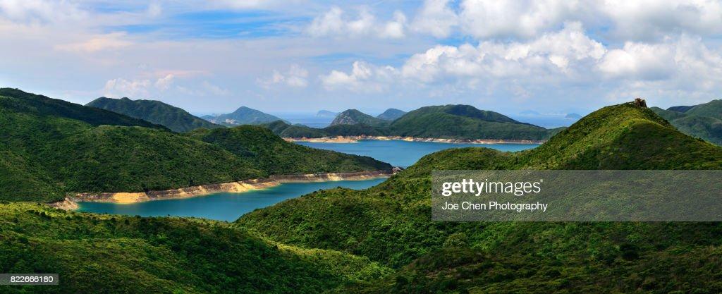 High Island Reservoir, Hong Kong : Stock Photo