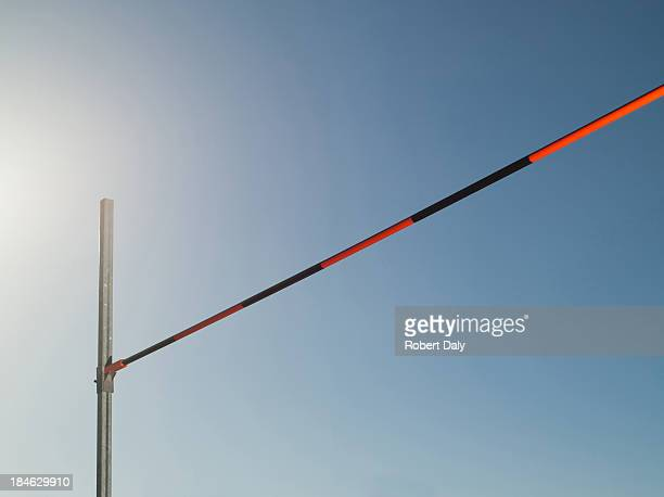 high jump bar - high jump stock pictures, royalty-free photos & images