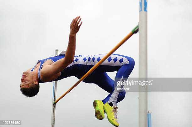 high jump - high jump stock pictures, royalty-free photos & images