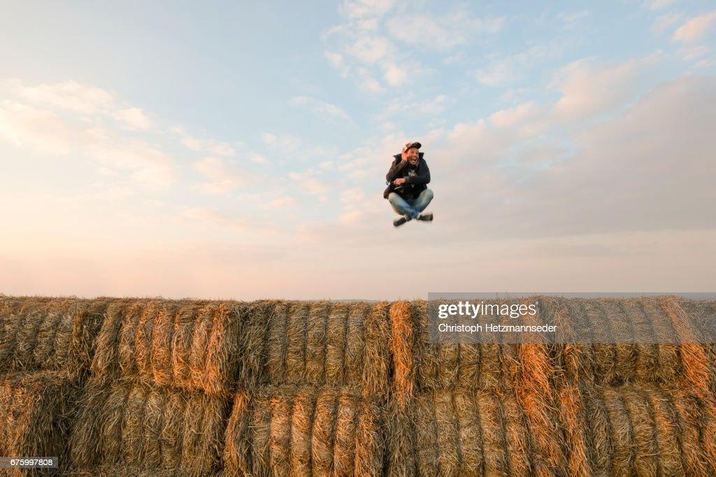 High jump : Stock Photo