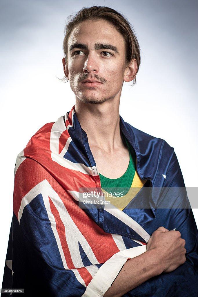 High Jumper Brandon Starc of Australia poses for a ...
