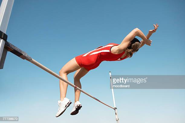 high jumper - high jump stock pictures, royalty-free photos & images