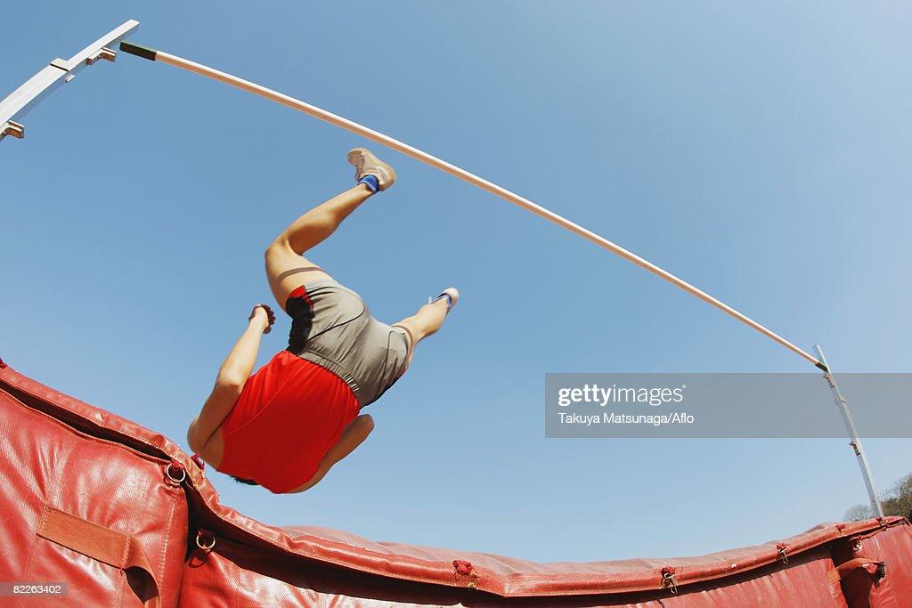 High Jumper : Stock Photo