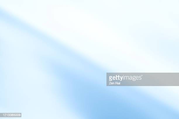 high key image of a leaf color converted to pastel blue - tilt stock pictures, royalty-free photos & images