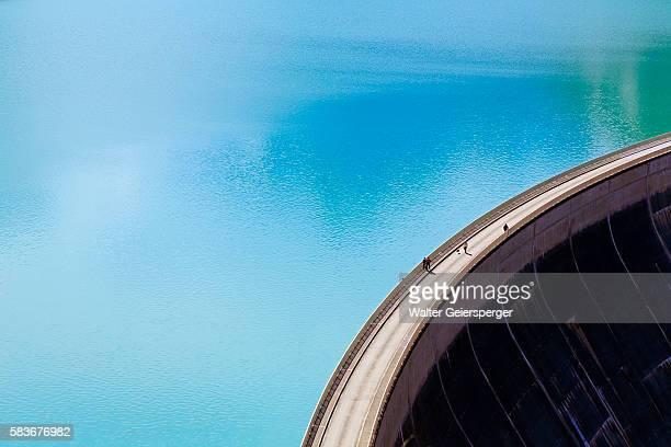 High mountains water- reservoir, Austria