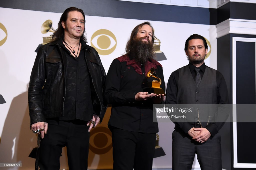 61st Annual GRAMMY Awards - Press Room : News Photo