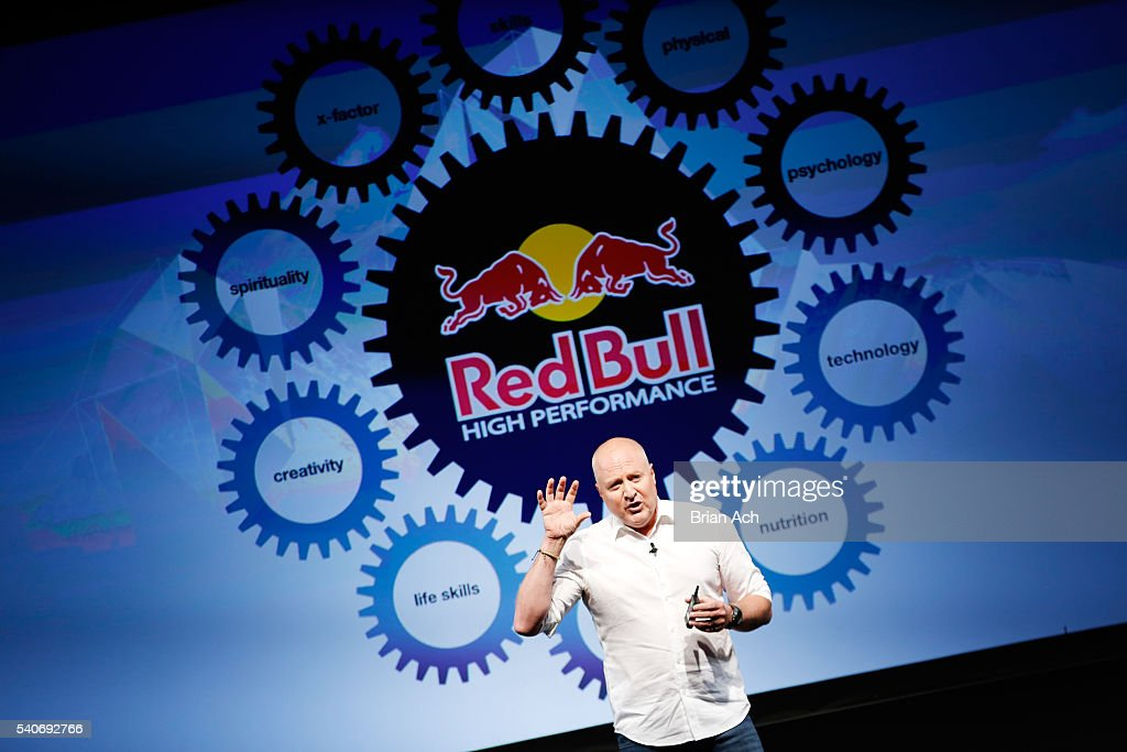 High Performance Director at Red Bull Andy Walshe speaks at the 2016 Wired Business Conference on June 16, 2016 in New York City.