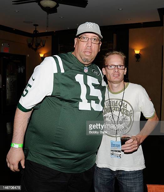 High Pitch Erik and Medicated Pete attends the 2012 Ronnie Mund Block Party at The Balcony on June 22 2012 in Carlstadt New Jersey
