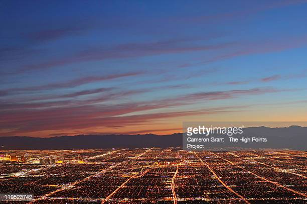 high points - frenchman mountain - las vegas stock pictures, royalty-free photos & images