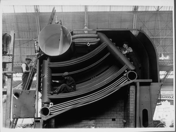 Steam Boiler Pictures | Getty Images