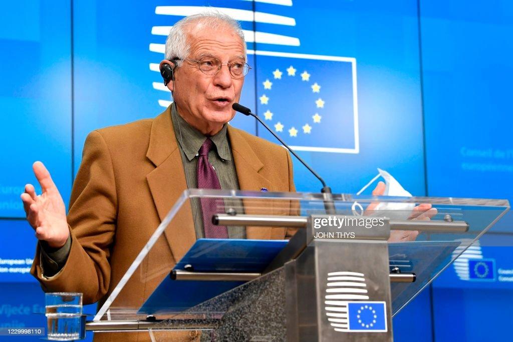 BELGIUM-EU-POLITICS-DIPLOMACY : News Photo