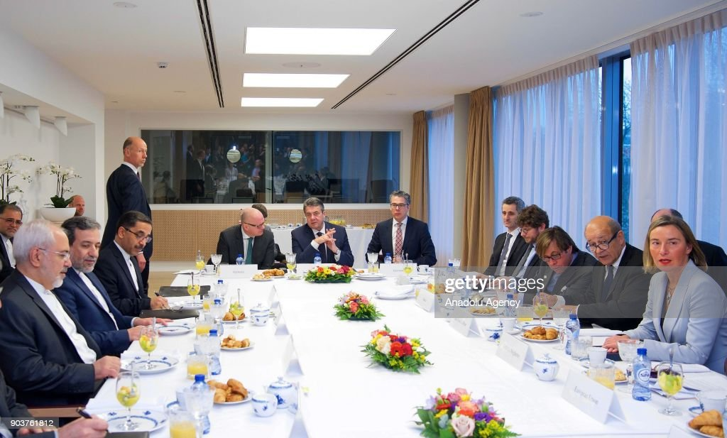 Iran Nuclear Deal in Brussels : News Photo