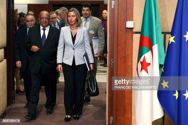High Representative of the European Union for Foreign Affairs and Security Policy and VicePresident of the European Commission Federica Mogherini...