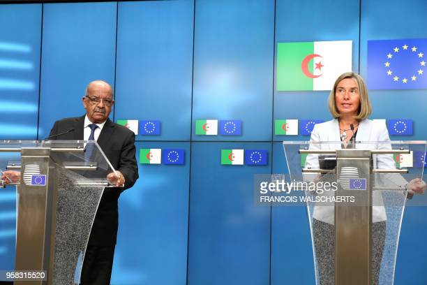 High Representative of the European Union for Foreign Affairs and Security Policy and VicePresident of the European Commission Federica Mogherini and...