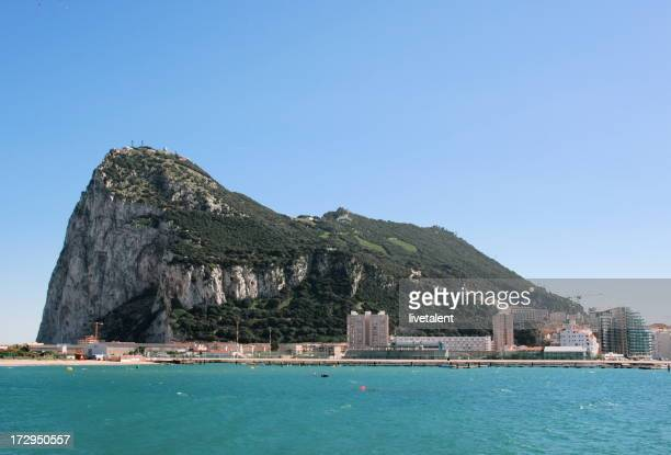 High res photo of Gibraltar on a sunny day