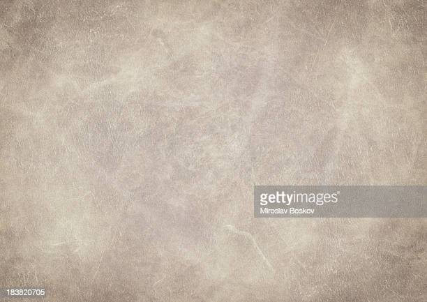 high resolution animal skin old parchment vignetted grunge texture - beige stock pictures, royalty-free photos & images