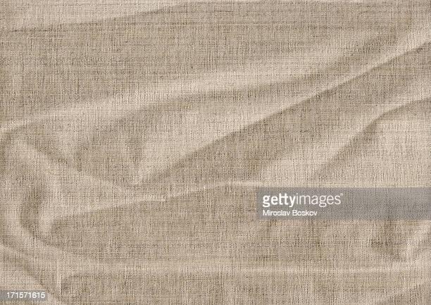 High Resolution Antique Artist's Linen Canvas Wrinkled Grunge Texture