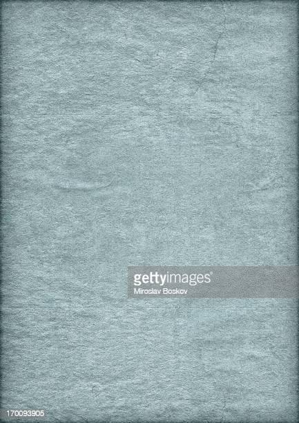 Hi-Res alten Powder Blue Papier Faltig Vignettierung Grunge-Textur